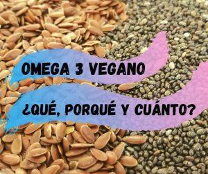 Omega 3 vegano que porque y cuanto, en el fondo chia y linaza