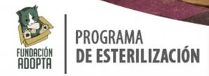 fundacion adopta. fundacion vegetariana de Chile. logo