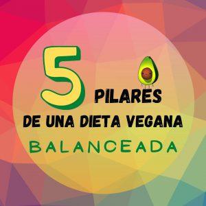 Logo- los pilares de una dieta vegana balanceada