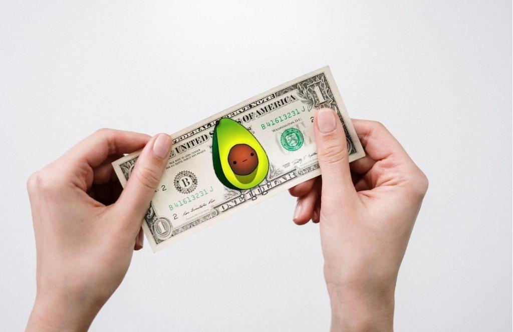el pago de una consulta vegana