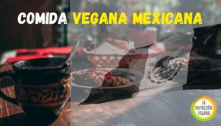 COMIDA VEGANA MEXICANA LA NUTRICION VEGANA