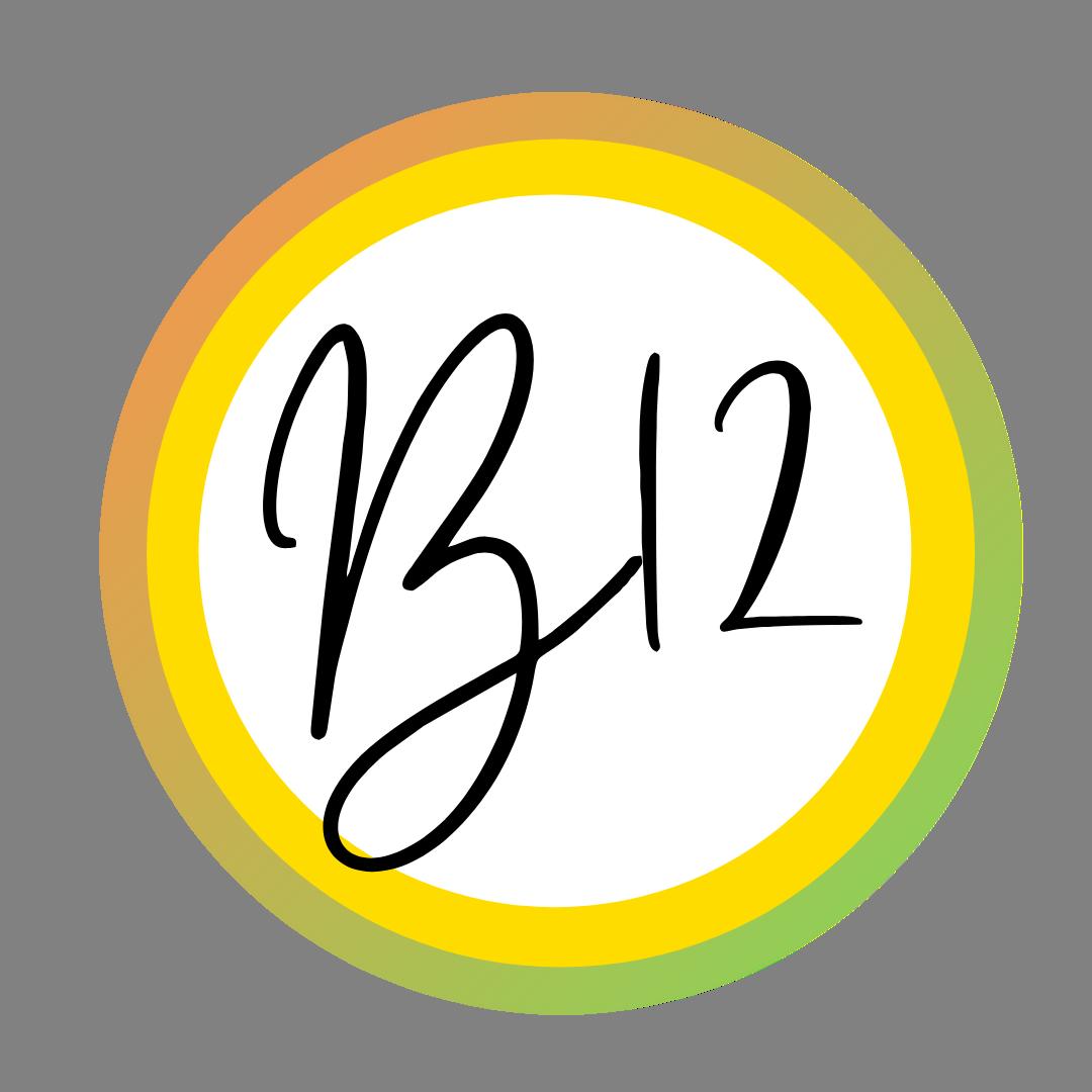 b12 logo la doctora vegana