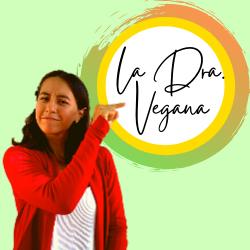 la doctora vegana logo